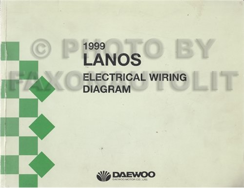 1999 Daewoo Lanos Wiring Diagram Manual Original Amazon Rhamazon Nubira At: Daewoo Lanos Central Locking Wiring Diagram At Aslink.org