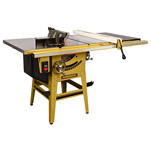 Powermatic 1791230K 64B Table Saw, 1.75 Hp 115/230V, 50-inch Fence With Riving Knife ()