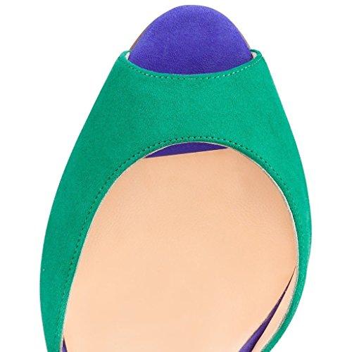 elashe - Tira de tobillo Mujer Verde