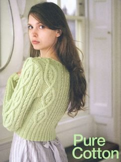 Debbie Bliss Knitting Patterns Pure Cotton & Stella Worsted Weight Knitting Patterns