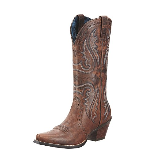 Ariat Women's Heritage Western X Toe Western Cowboy Boot, Sa