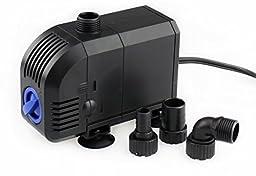 530 GPH Aquarium Fish Tank Adjustable Submersible Water Pump Powerhead Fountain