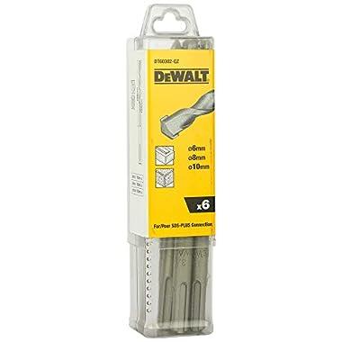 DEWALT DT60302 SDS-Plus Hammer Drill Bit-Set (Pack of 6) 8