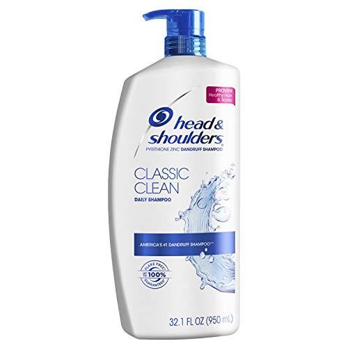 Head and Shoulders Classic Clean Anti-Dandruff Shampoo 32.1 Fl Oz