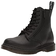 Dr. Martens Women's Pascal with Zip Combat Boot