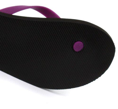 Reebok, Ciabatte da spiaggia donna Multicolore Purple/Black