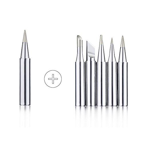 sywon full set 60w 110v electric soldering iron kit adjustable temperature iron stand 5pcs. Black Bedroom Furniture Sets. Home Design Ideas