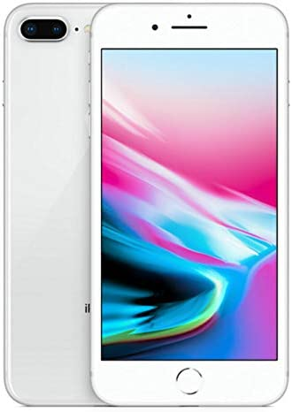 Apple iPhone 8 Plus, GSM Unlocked, 256GB - Silver (Renewed)