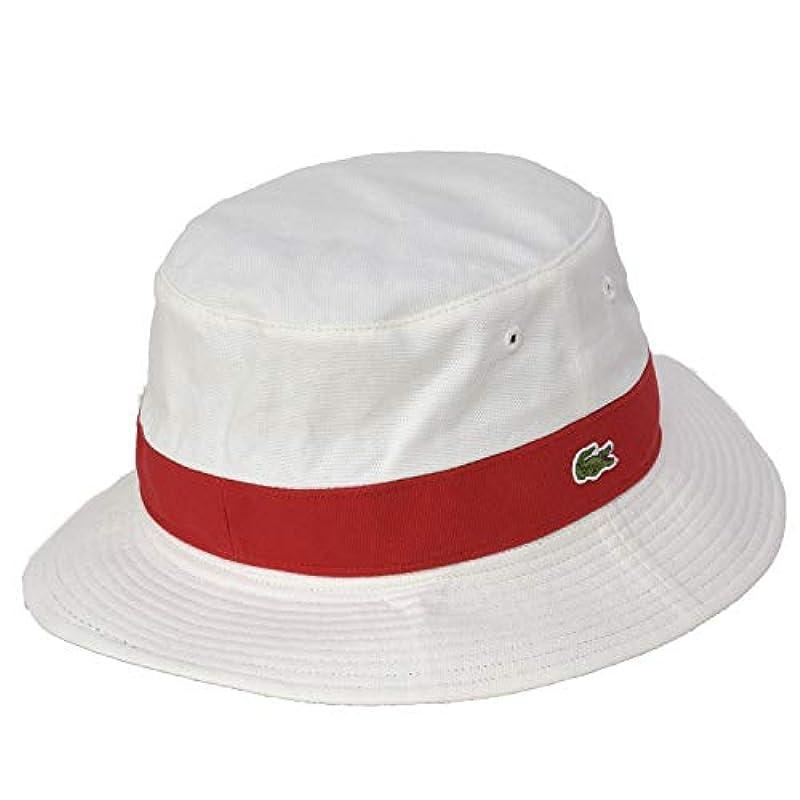 LACOSTE 심플 로고 버킷 모자 (10색상)