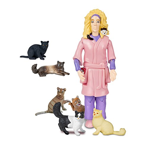 Accoutrements Crazy Cat Lady Action Figure