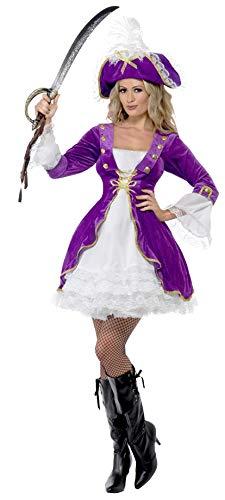 Smiffys Purple Pirate Beauty -