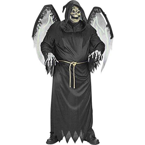 Men's Winged Reaper Halloween Costume (Size:48-52) -