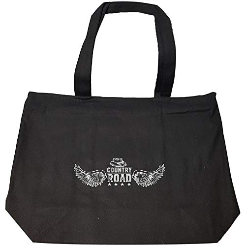 Funny Cross Country - Wings Road - Race Competition Countryside Humor - Fashion Zip Tote Bag