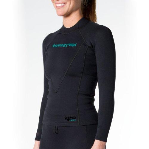 Black Hyperflex Playa 2mm Neoprene Jacket
