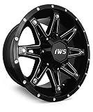 jeep black rims - Set of 4-IWS Series 5009 18