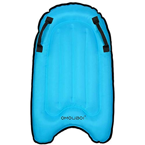 """OMOUBOI Bodyboards Lightweight Soft Inflatable Bodyboard Portable Pool Floats Boards 30"""" Mini Inflatable Surfboards for…"""