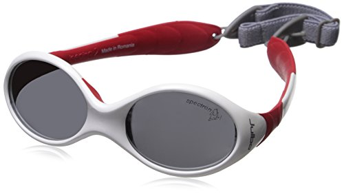Julbo Looping 2 Sunglasses, White/Red, 12-24 months with Spectron 4 Baby Lens