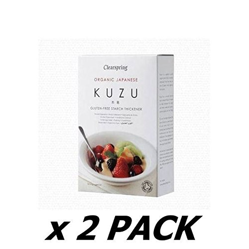 CLEARSPRING WHOLEFOODS Organic Kuzu Root Starch 125g (2 Pack)