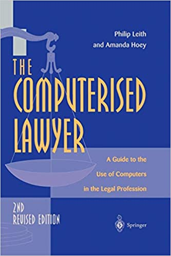 A Guide to the Use of Computers in the Legal Profession