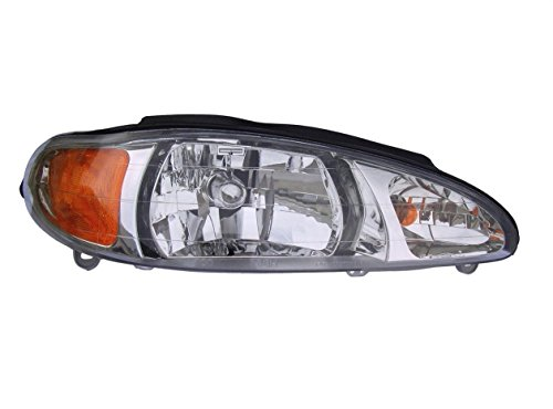 Tracer Mercury Ford (New Headlight Headlamp Right Passenger Side for a Ford Escort or Mercury Tracer)