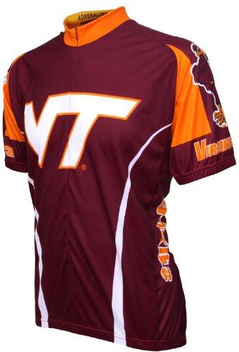 (NCAA V-Tech Cycling Jersey,X-Large)