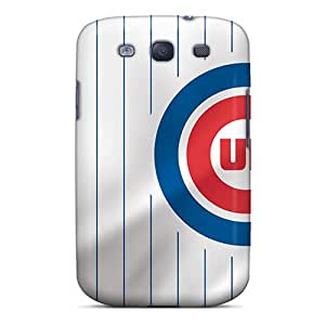 [ChksW1232FwFdB] - New Chicago Cubs Protective Galaxy S3 Classic Hardshell Case
