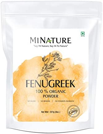 nature CERTIFIED Fenugreek TRIGONELLA ORGANICALLY product image