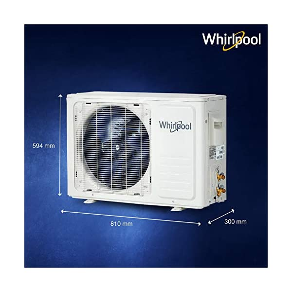 Whirlpool 2 Ton 3 Star Inverter Split AC (Copper, 2.0T MAGICOOL PRO 3S COPR INV, White) 2021 July Split AC; 2 ton capacity Energy Rating: 3 Star Warranty: 1 year on product, 1 year on condenser, 10 years on compressor