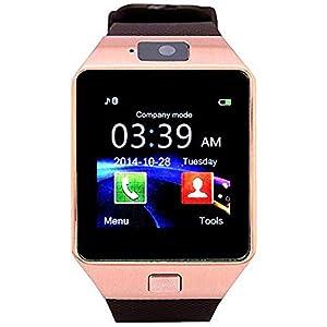 VOYAGEUR DZ09 Digital Smart Watch – Rose Gold