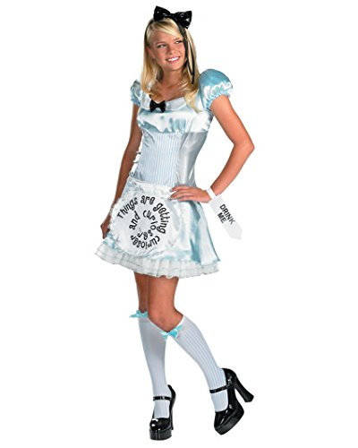 Alice in Wonderland Theatre Costumes Movie Costumes Fairytale Costume Storybook Sizes: (Cheap Alice In Wonderland Costume Ideas)