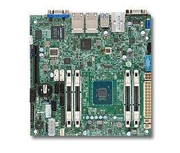 (Supermicro Atom C2758 64GB DDR3 PCIE SATA USB Mini ITX DDR3 1333 NA Motherboards MBD-A1SRI-2758F-O)