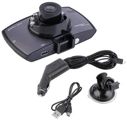 Car Dash Cam Video Recorder HD-1080P//720P 2.4 Screen 170 Degree View Angle G-Sensor Motion Detection
