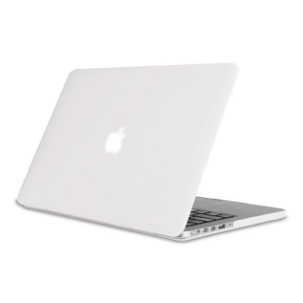 Fintie Funda para MacBook Pro 15 Retina - Súper Delgada Carcasa Recubierto de Goma Protector de Plástico Duro para Apple MacBook Pro 15.4