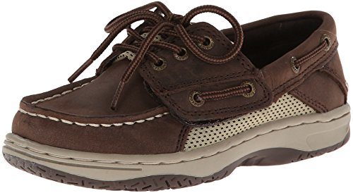 Sperry Billfish JR Boat Shoe (Toddler/Little Kid),Chocolate,5 W US Toddler (Sperry Top Sider Boys Billfish Boat Shoes)