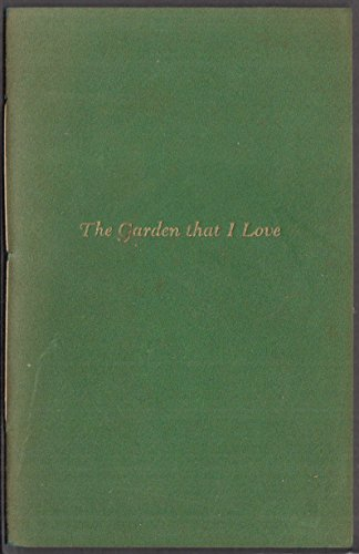 SIGNED Laura Seymour Doolittle The Garden That I Love 1950 Purington (Doolittle Gardens)