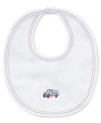 Kissy Kissy Baby-Boys Infant Classics Reversible Bib-Multicolored-One Size ()
