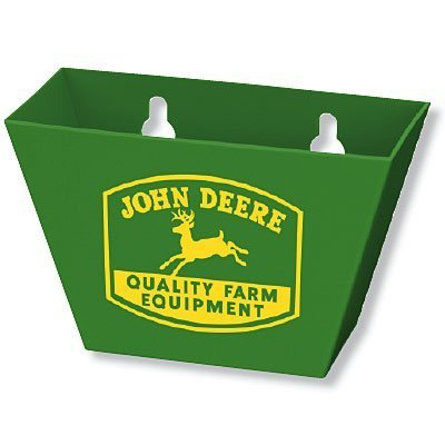 John Deere Green Plastic Bottle Cap Catcher