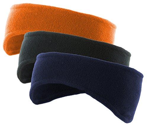 Mato & Hash Polar Fleece Headband | Soft Stretch Ear warmers | Team Colors