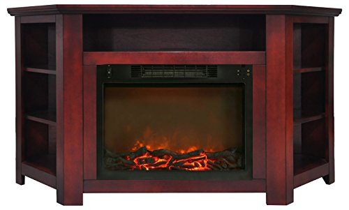 Cheap Hanover Tyler Park Corner Electric Fireplace 56