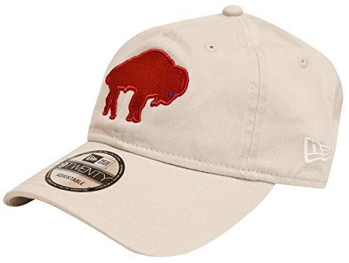 (New Era NFL Cotton Strapback Hat (Buffalo Bills)