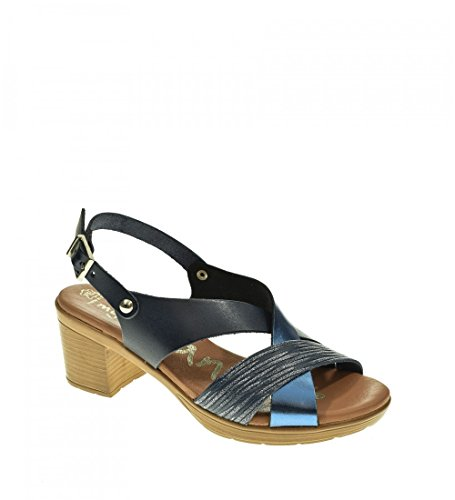 Mujer Sandalia oh 3891 Sandals Tacon my Marino 55rxazSwWq