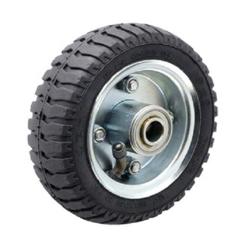 Albion-SF0850112-9-Diameter-Pneumatic-Wheel-28-Tread-Width-Roller-Bearing-3-12-Hub-Length-34-Bearing-ID-295-lb-Capacity