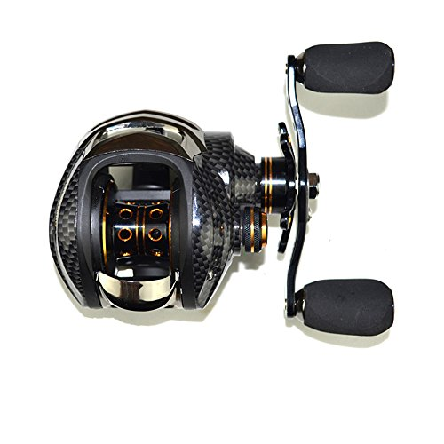 Speed High Reel Baitcasting - Lixada Baitcasting Reel 17+1 Ball Bearings Baitcast Fishing Reel 7.0:1 Bait Casting Reels Left/Right Hand with Dual Brake System & Luxury Paint Fish Reel