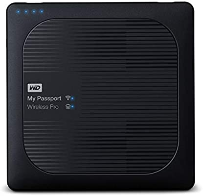WD My Passport Wireless Pro - Disco Duro Externo portátil de 1 TB ...