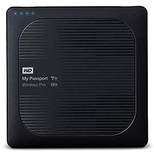 WD 1TB My Passport Wireless Pro 2.5 Inch USB 3.0 Portable Hard Drive