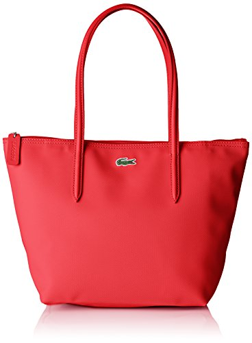 5x24 Lacoste x Rose 14 5 Femme Virtual H Sac Cuir Rose x cm Cabas L Pink Bandouliere W 5x23 wCYwgSq