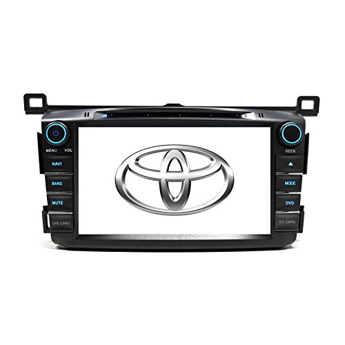 Otto Navi GPS DVD Player In Dash OE Fitment Navigation Radio USB SD Unit for 2013-2016 Toyota Rav4