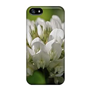 Cases For Iphone 5/5s With White Clover Flower