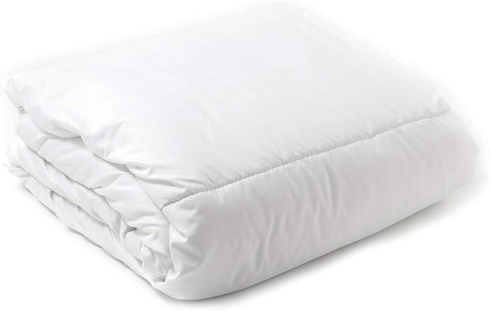 Carrefour Tex - Relleno Nórdico de Microfibra Basic 150 cm Blanco: Amazon.es: Hogar