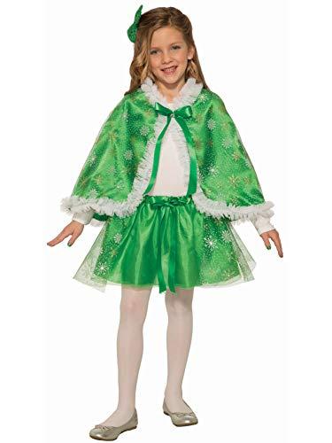 Forum Novelties Child Sparkle Cape-Green, Multi Color